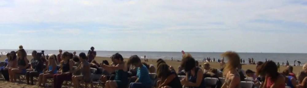219. Rosas danst op het strand